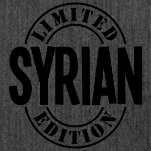 syrian limited edition stamp - Shoulder Bag made from recycled material