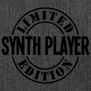 synth player limited edition stamp - Shoulder Bag made from recycled material