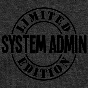 system admin limited edition stamp - Women's Boat Neck Long Sleeve Top