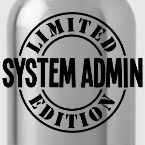 system admin limited edition stamp - Water Bottle