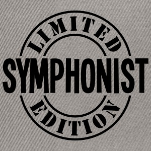 symphonist limited edition stamp - Snapback Cap