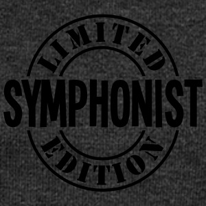 symphonist limited edition stamp - Women's Boat Neck Long Sleeve Top