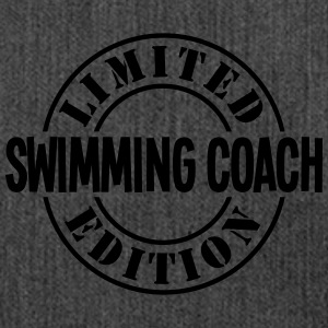 swimming coach limited edition stamp cop - Shoulder Bag made from recycled material