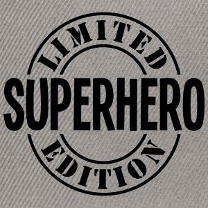 superhero limited edition stamp - Snapback Cap