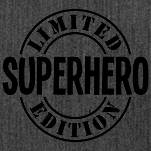 superhero limited edition stamp - Shoulder Bag made from recycled material