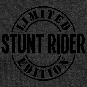 stunt rider limited edition stamp - Women's Boat Neck Long Sleeve Top