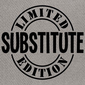 substitute limited edition stamp - Snapback Cap