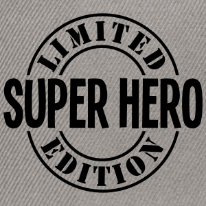 super hero limited edition stamp - Snapback Cap