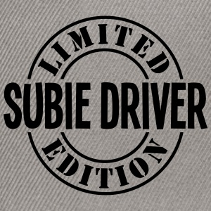 subie driver limited edition stamp - Snapback Cap