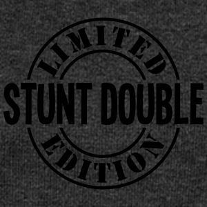 stunt double limited edition stamp - Women's Boat Neck Long Sleeve Top