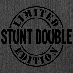 stunt double limited edition stamp - Shoulder Bag made from recycled material