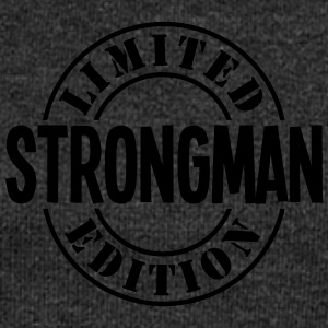 strongman limited edition stamp - Women's Boat Neck Long Sleeve Top