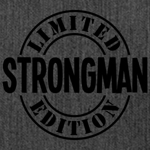 strongman limited edition stamp - Shoulder Bag made from recycled material