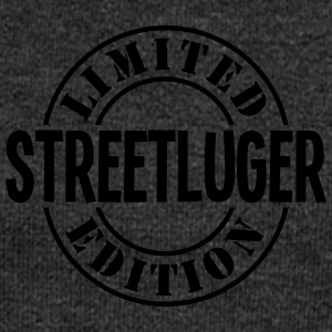 streetluger limited edition stamp - Women's Boat Neck Long Sleeve Top