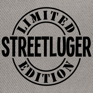 streetluger limited edition stamp - Snapback Cap