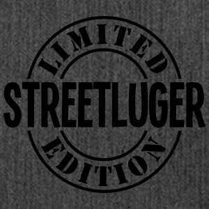 streetluger limited edition stamp - Shoulder Bag made from recycled material