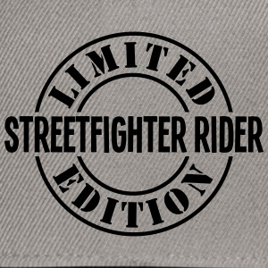 streetfighter rider limited edition stam - Snapback Cap