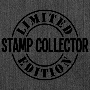 stamp collector limited edition stamp co - Shoulder Bag made from recycled material