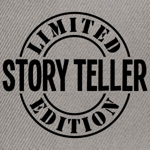 story teller limited edition stamp - Snapback Cap