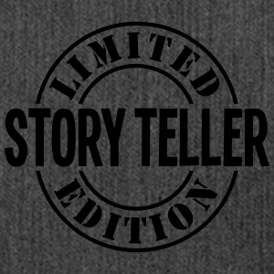 story teller limited edition stamp - Shoulder Bag made from recycled material