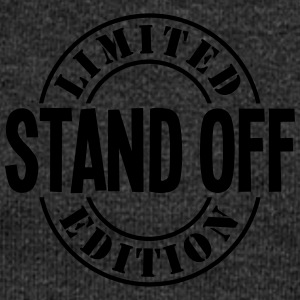 stand off limited edition stamp - Women's Boat Neck Long Sleeve Top