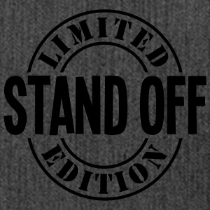 stand off limited edition stamp - Shoulder Bag made from recycled material