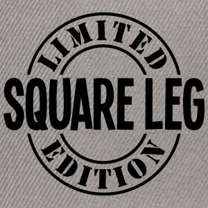 square leg limited edition stamp - Snapback Cap