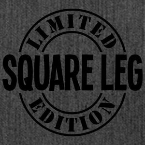 square leg limited edition stamp - Shoulder Bag made from recycled material