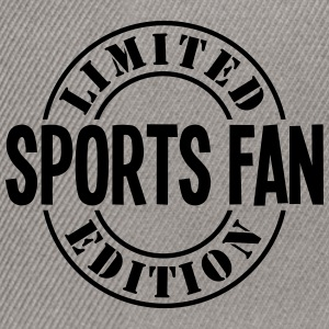 sports fan limited edition stamp - Snapback Cap