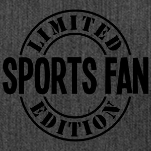 sports fan limited edition stamp - Shoulder Bag made from recycled material