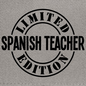 spanish teacher limited edition stamp co - Snapback Cap