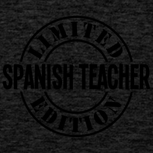 spanish teacher limited edition stamp co - Men's Premium Tank Top