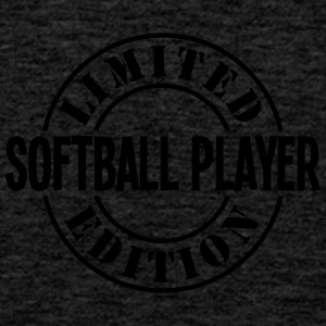 softball player limited edition stamp co - Men's Premium Tank Top