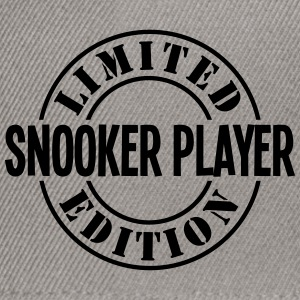 snooker player limited edition stamp cop - Snapback Cap
