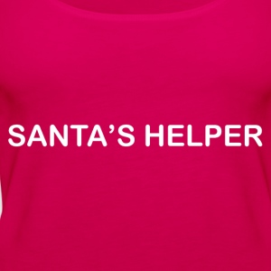 SANTA'S HELPER T-Shirts - Women's Premium Tank Top