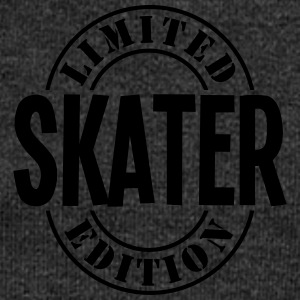 skater limited edition stamp - Women's Boat Neck Long Sleeve Top