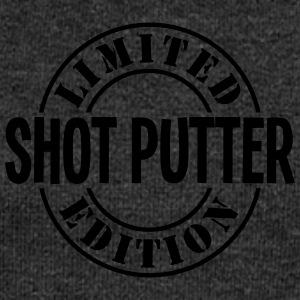 shot putter limited edition stamp - Women's Boat Neck Long Sleeve Top