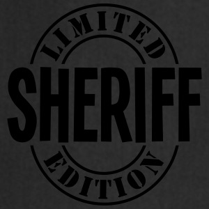 sheriff limited edition stamp - Cooking Apron