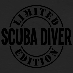 scuba diver limited edition stamp - Men's Premium Longsleeve Shirt