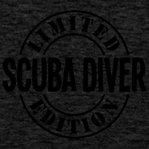 scuba diver limited edition stamp - Men's Premium Tank Top