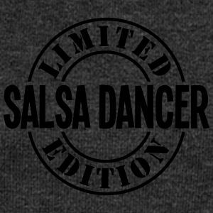 salsa dancer limited edition stamp - Women's Boat Neck Long Sleeve Top