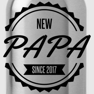 new papa since 2017 naissance Tabliers - Gourde