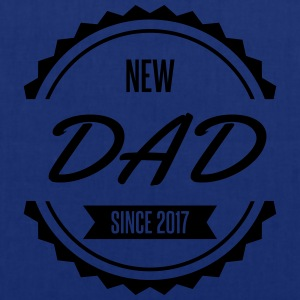 new dad since 2017 Tabliers - Tote Bag