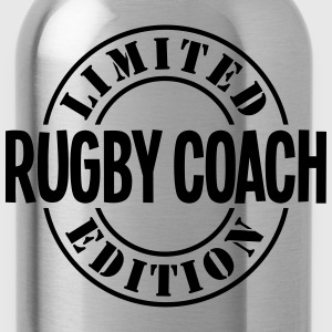 rugby coach limited edition stamp - Water Bottle