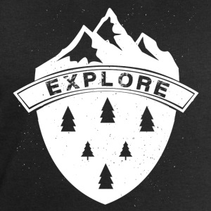 Explore the Mountains - Men's Sweatshirt by Stanley & Stella