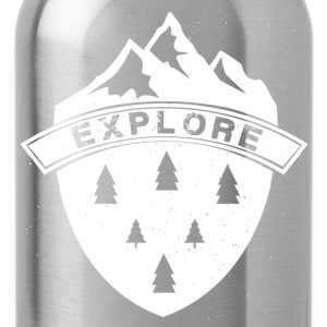 Explore the Mountains - Water Bottle