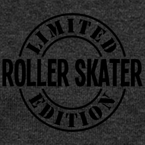 roller skater limited edition stamp - Women's Boat Neck Long Sleeve Top