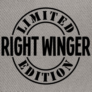 right winger limited edition stamp - Snapback Cap