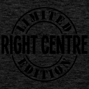 right centre limited edition stamp - Men's Premium Tank Top