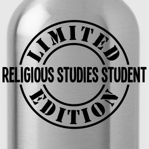 religious studies student limited editio - Water Bottle